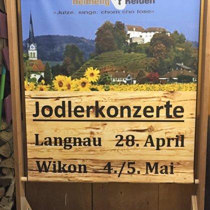 Jodlerkonzerte 2018