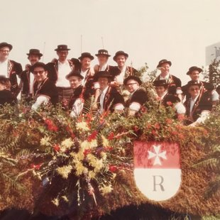 Umzugswagen Jodlerfest in Schötz