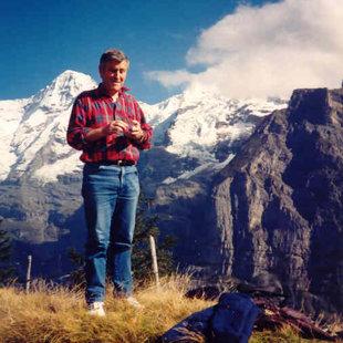 Aushilfsdirigent Ernst Steffen auf der Joderreise 1995